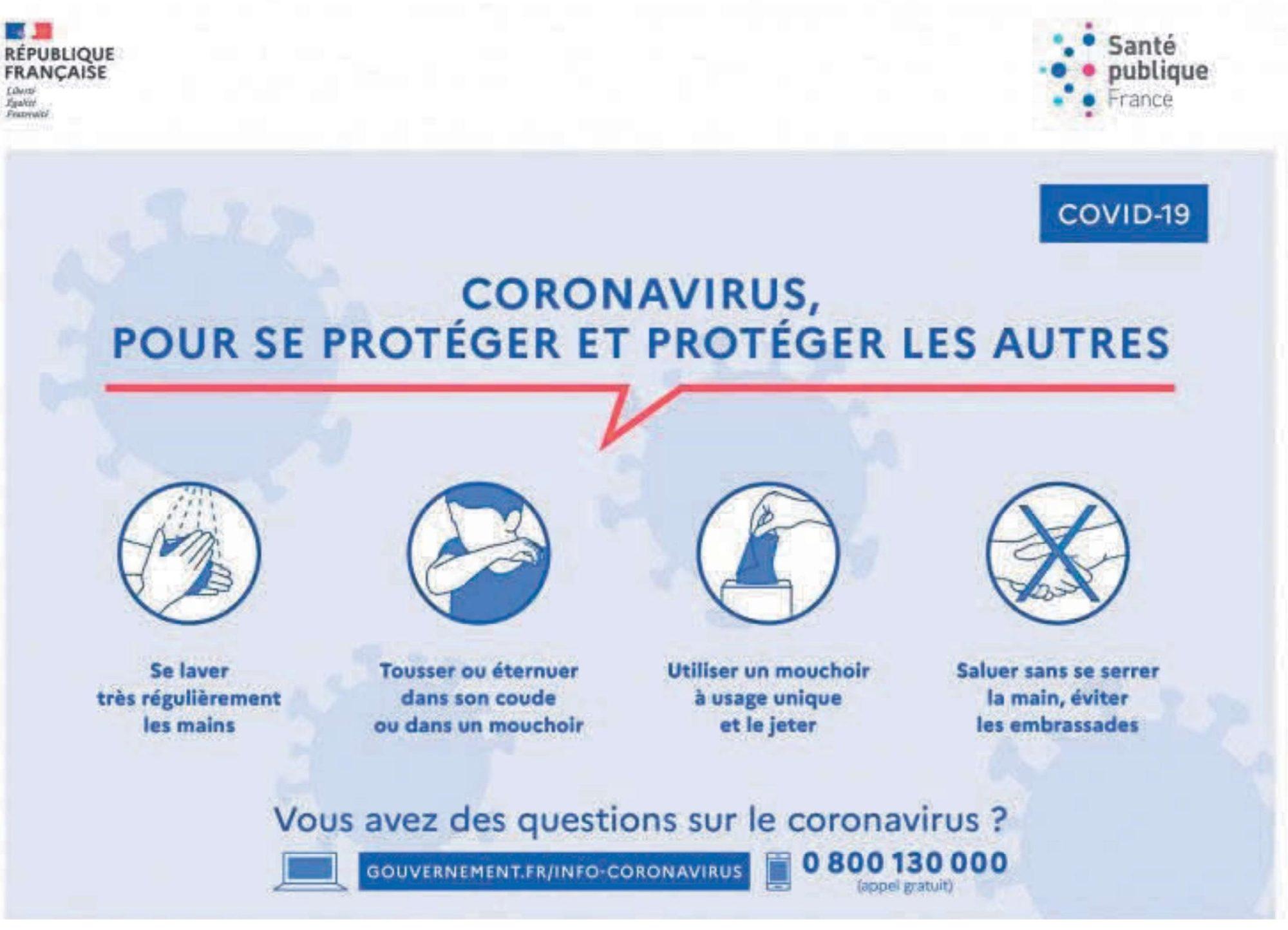 affiche 1 coronavirus